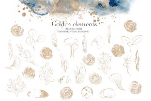 Underwater Watercolor Collection Graphic Illustrations By EvgeniiasArt 8