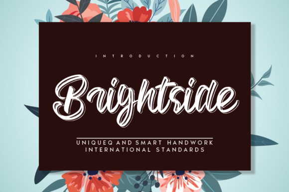 Print on Demand: Brightside Script & Handwritten Font By andikastudio