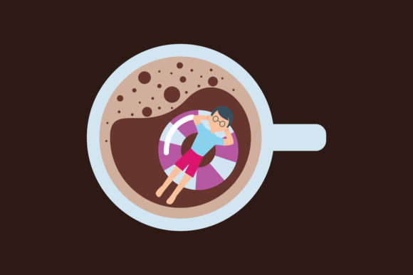 Print on Demand: Coffee Illustration Design Graphic Illustrations By MAMD