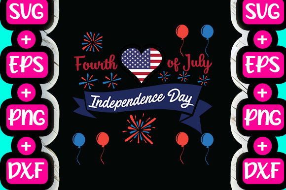Print on Demand: Fourth of July Independence Day Graphic Print Templates By svg.in.design