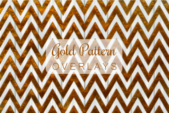 Print on Demand: Gold Texture Overlay Pattern Papers Graphic Patterns By Prawny