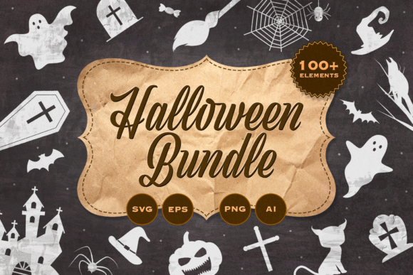 Print on Demand: Halloween Bundle Graphic Illustrations By Simply Swapnil