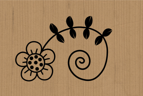 Hand Drawn Doodle Daisy Flower Cut Files Graphic Design