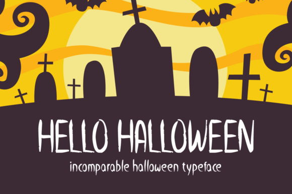 Print on Demand: Hello Halloween Display Font By Seemly Fonts