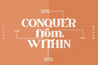 Print on Demand: March Serif Font By Din Studio 14