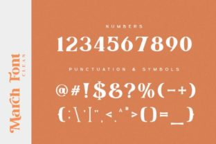 Print on Demand: March Serif Font By Din Studio 16