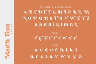 Print on Demand: March Serif Font By Din Studio 17
