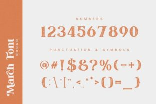 Print on Demand: March Serif Font By Din Studio 19