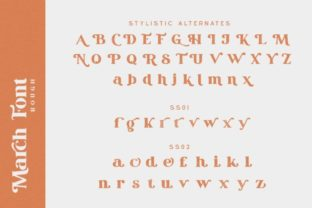 Print on Demand: March Serif Font By Din Studio 20