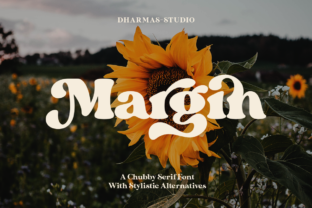 Print on Demand: Margin Serif Font By Dharmas Studio
