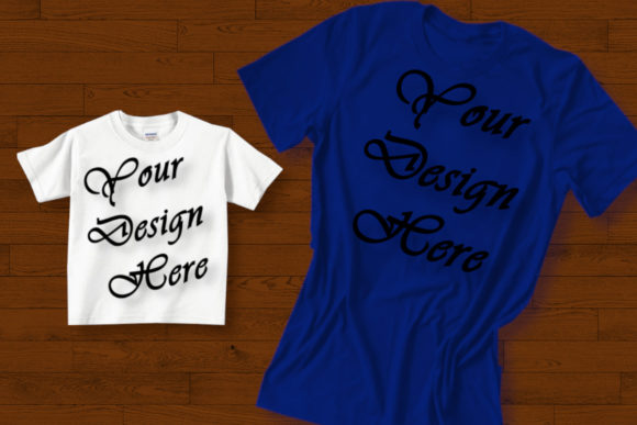 Mockups Family MatchingT-shirts Graphic Product Mockups By MockupsByGaby