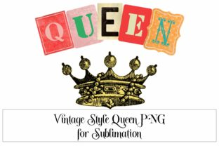 Queen Sublimation Graphic PNG 300 DPI Graphic Illustrations By Digital Honey Bee