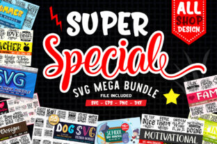 Print on Demand: Super Special Mega Craft Bundle  By OrinDesign