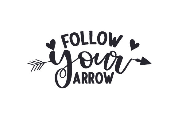 Follow Your Arrow Travel Craft Cut File By Creative Fabrica Crafts