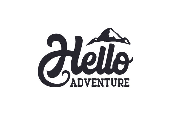 Hello Adventure Travel Craft Cut File By Creative Fabrica Crafts