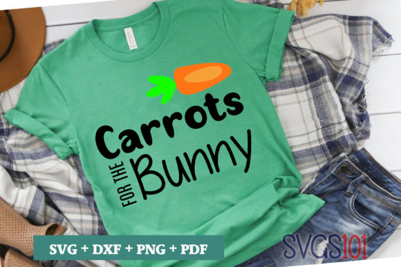 Carrots for the Bunny Tshirt Design Graphic Illustrations By svgs101
