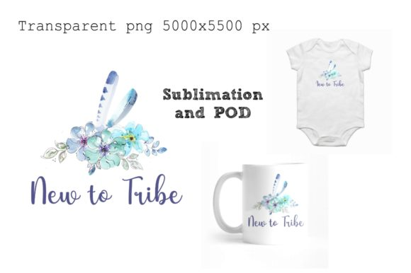 Print on Demand: New to Tribe Design for Sublimation Graphic Illustrations By Anines Atelier