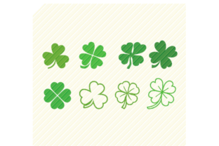 Print on Demand: Shamrock Saint Patrick's Day Clover Graphic Crafts By SVGPlaceDesign