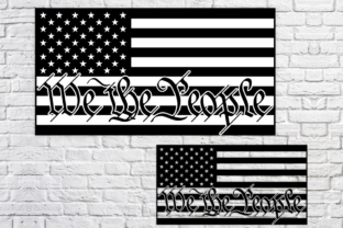 Print on Demand: American Flag, 4th of July Graphic Crafts By SVGcrafters