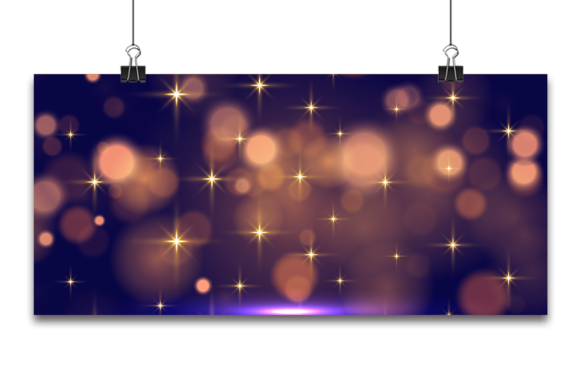 Abstract Bokeh Light Background Graphic Backgrounds By Ju Design