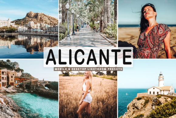 Print on Demand: Alicante Lightroom Presets Pack Graphic Actions & Presets By Creative Tacos