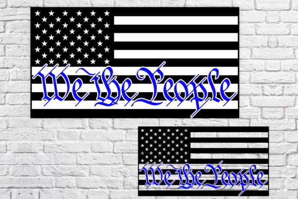 Print on Demand: American Police Graphic Crafts By SVGcrafters