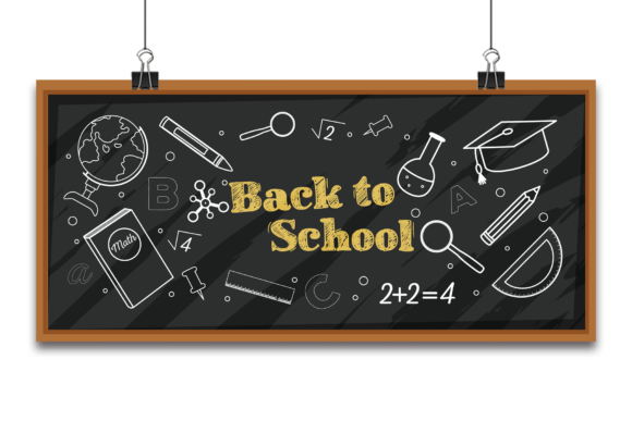 Back to School Banner Vector Background. Graphic Backgrounds By Ju Design