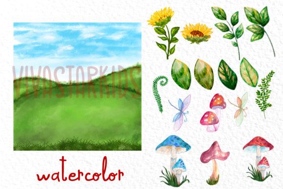 Cute Gnomes Clipart Forest Gnomes Graphic Item