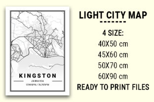 Print on Demand: Kingston Light City Map Graphic Photos By tienstencil