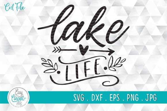 Lake Life Graphic Crafts By EasyConceptSvg