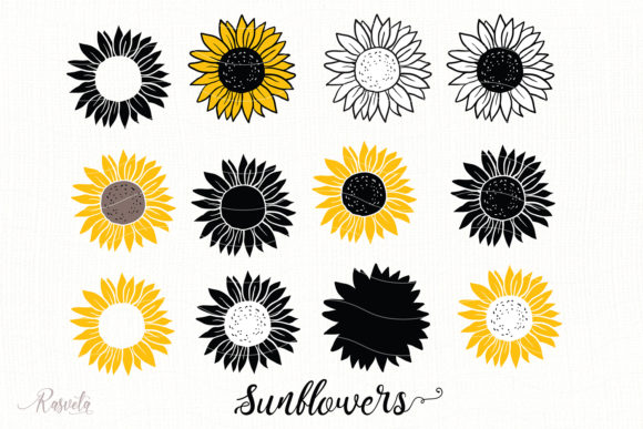 Svg Cricut Sunflower Free Svg Cut Files Create Your Diy Projects Using Your Cricut Explore Silhouette And More The Free Cut Files Include Svg Dxf Eps And Png Files