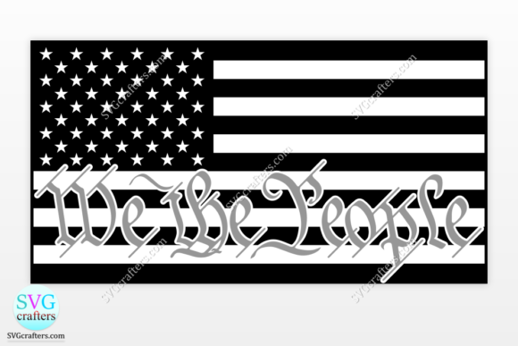 Print on Demand: We the People Correctional Officer Svg Graphic Crafts By SVGcrafters