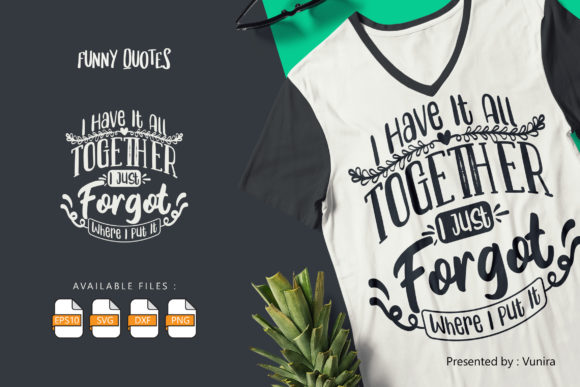 10 Funny Bundle | Lettering Quotes Graphic Design Item