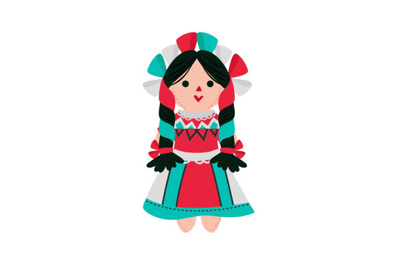 Rag Doll Mexico Craft Cut File By Creative Fabrica Crafts