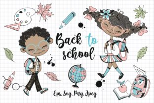 Back to School Graphic Illustrations By grigaola