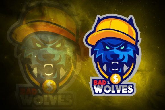 Bad Wolf E-Sport Logo Graphic Graphic Logos By remarena