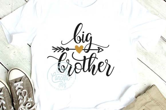 Big Brother Cut File Graphic Crafts By EasyConceptSvg