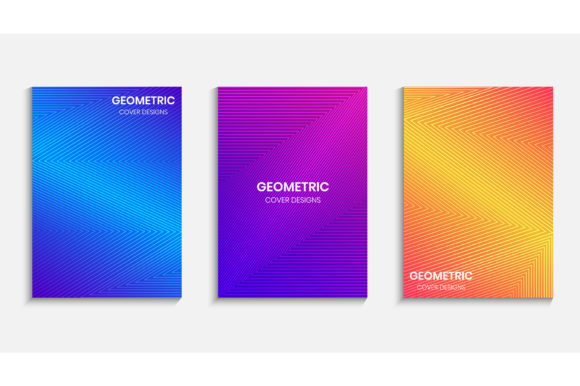Cover Design with Gradient Background Graphic Backgrounds By medelwardi
