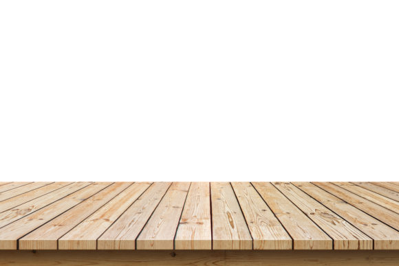Empty Wooden Table Top Background. Graphic Architecture By prince4_