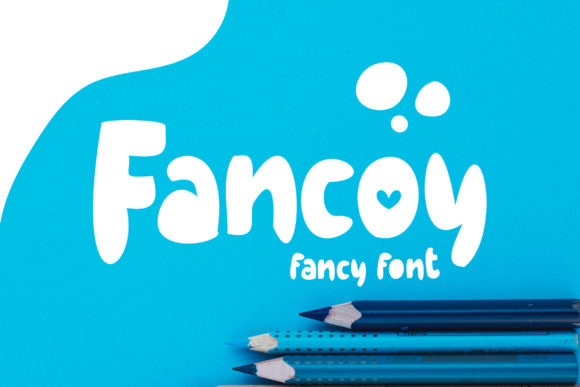 Print on Demand: Fancoy Display Font By Vunira