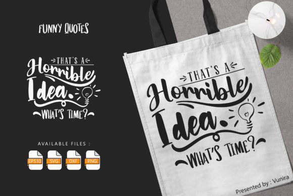 Funny | Lettering Quotes Graphic
