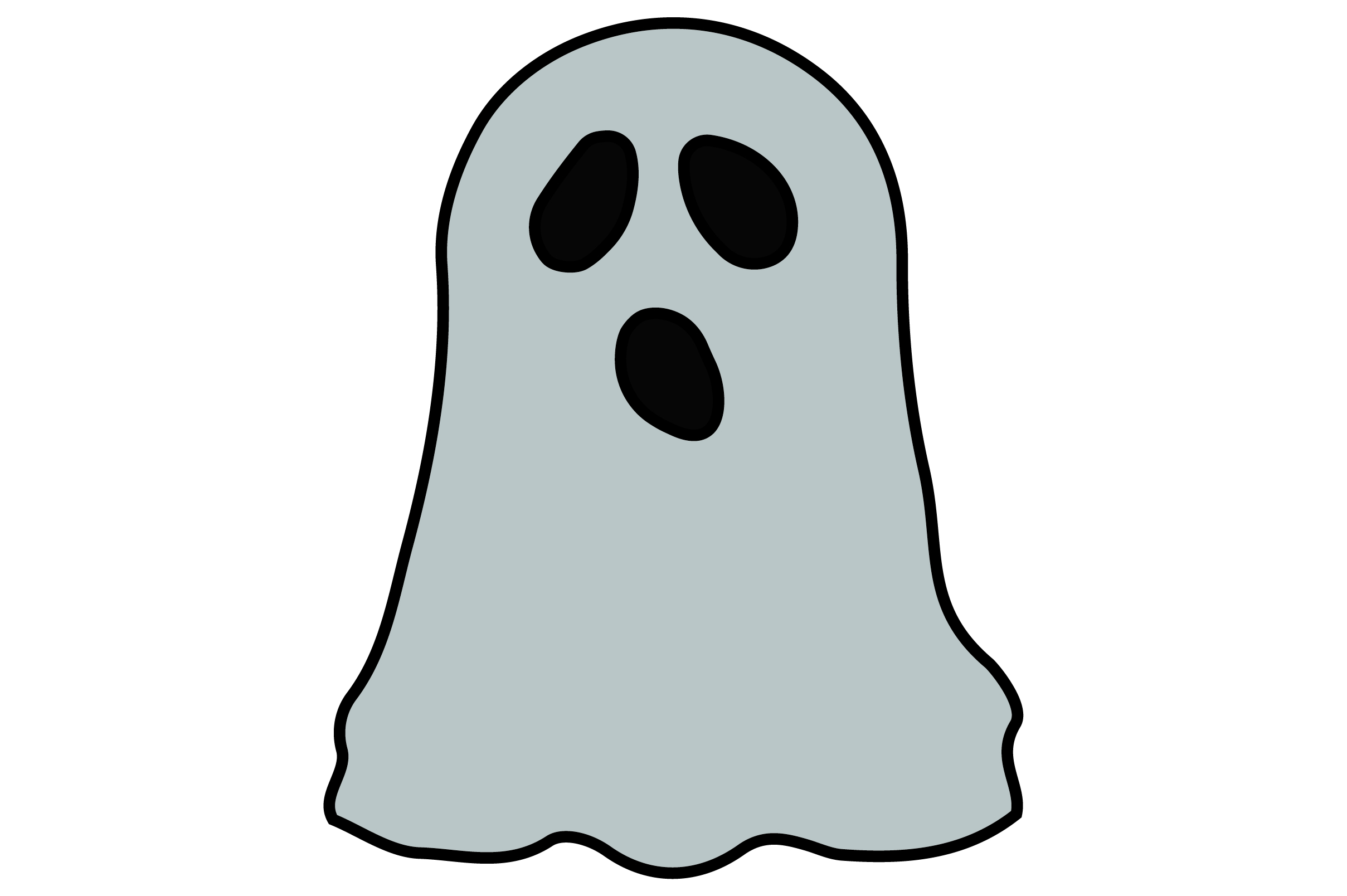 Halloween Cute Ghost Graphic By Thomasrayle Creative Fabrica Choose from 140+ cute ghost graphic resources and download in the form of png, eps, ai or psd. halloween cute ghost