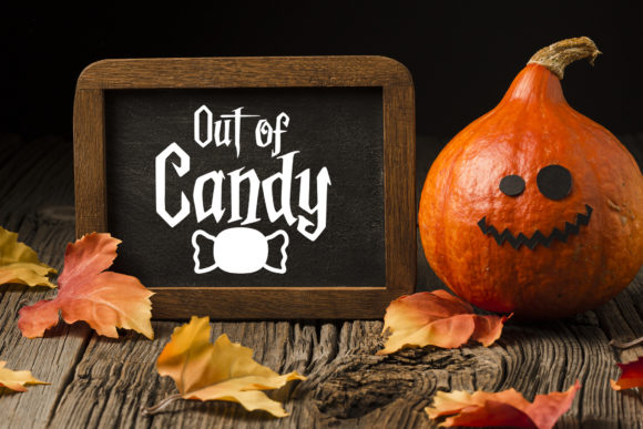 Halloween, out of Candy Graphic Download