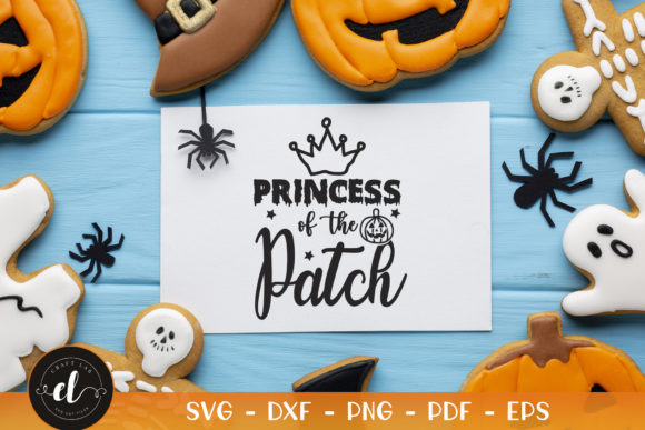 Halloween, Princess of the Patch Graphic Crafts By CraftlabSVG