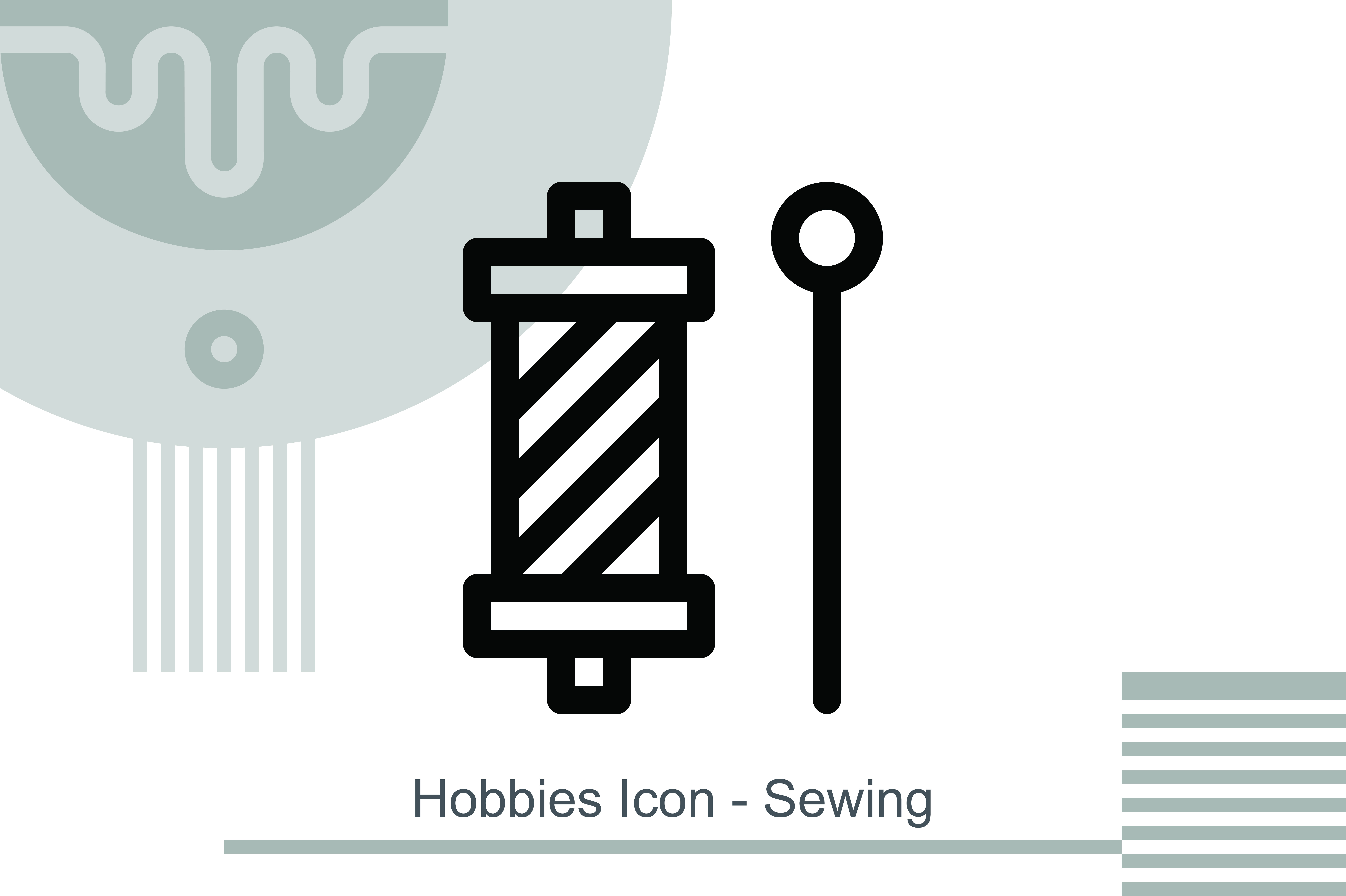 Hobbies Icon Sewing Graphic By Melindagency Creative Fabrica