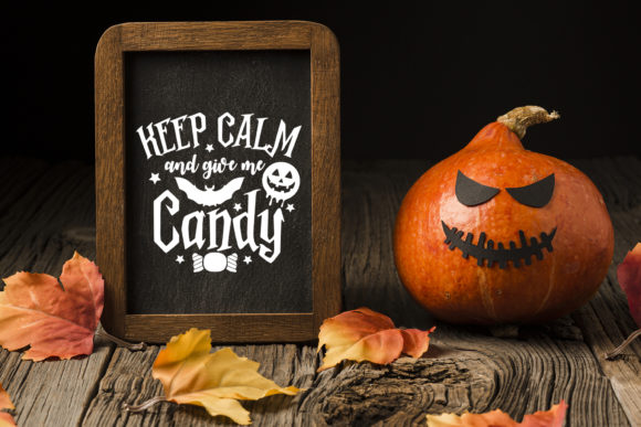Keep Calm and Give Me Candy Graphic Download