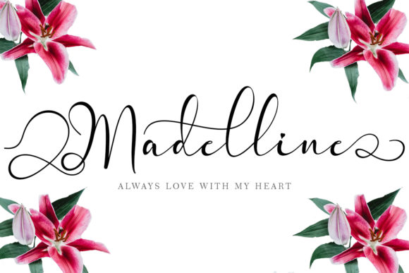 Print on Demand: Madelline Script & Handwritten Font By yogaletter6