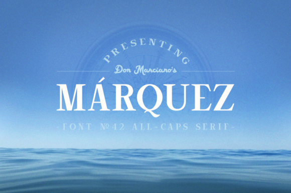Print on Demand: Marquez Serif Font By DonMarciano