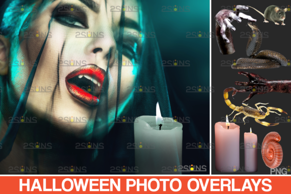 Photoshop Overlay Halloween Overlay V.9 Graphic Actions & Presets By 2SUNS
