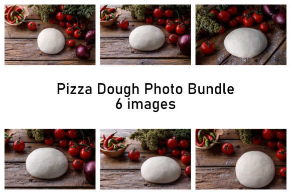 Pizza Dough Images Graphic Food & Drinks By LightArtistry
